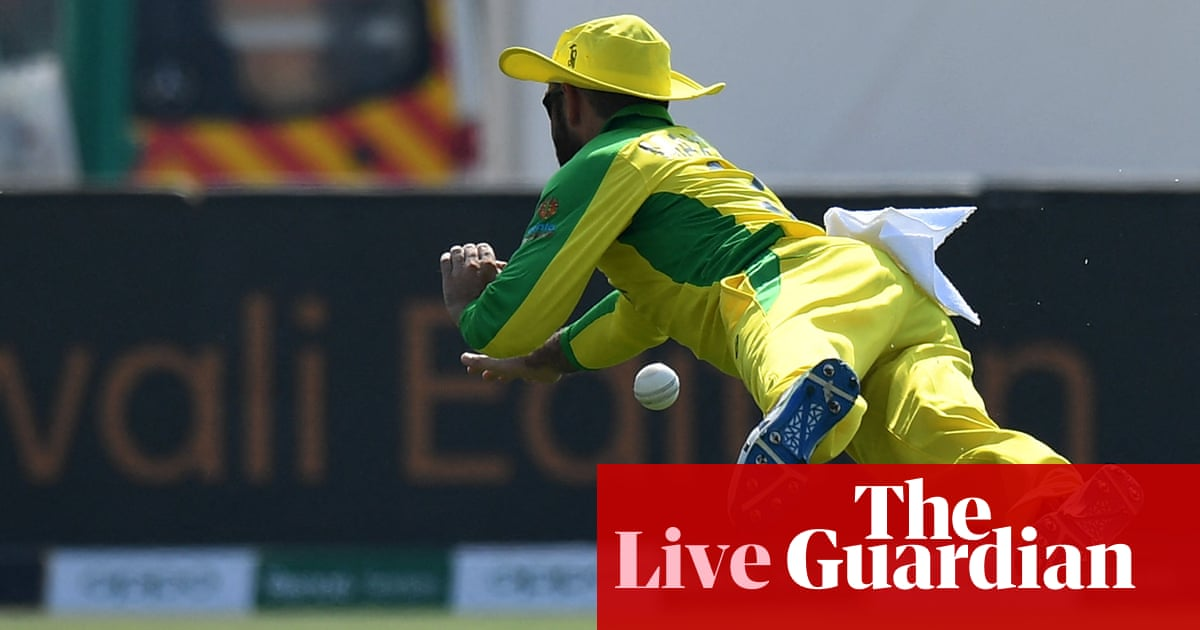 Australia need 119 to beat South Africa: T20 World Cup – live!