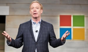 Microsoft president Brad Smith: taking the moral high ground.