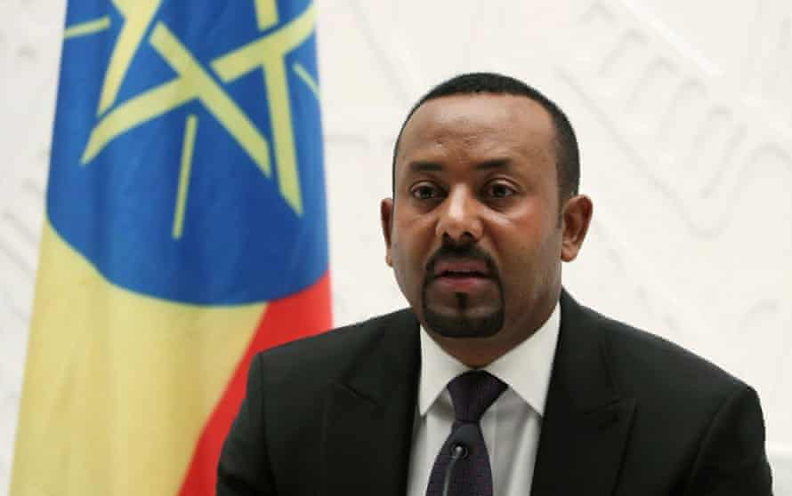 Ethiopian PM Abiy Ahmed. The WHO recently described the situation in his country as 'horrific'