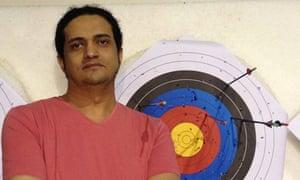 Death sentence … Saudi-born Palestinian poet Ashraf Fayadh.
