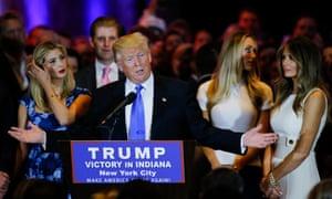 Trump at primaries 2016