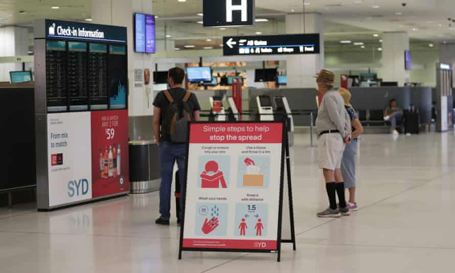 NSW is ramping up its response to the spread of Covid-19 by ordering nurses and biosecurity staff at Sydney airport to check the temperature of all incoming passengers.
