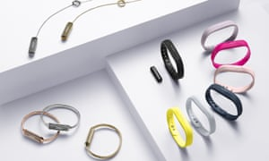 Fitbit's Flex 2 family. Fitbit is the market leader in wearable devices.