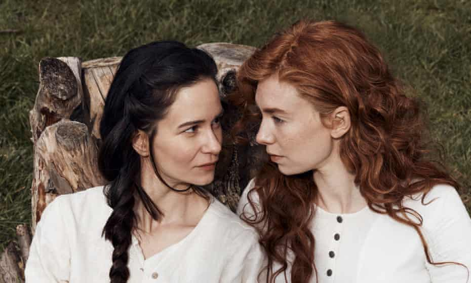 Katherine Waterston (left) and Vanessa Kirby in The World to Come