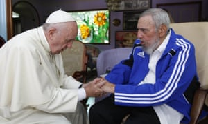 Pope Francis and Fidel Castro