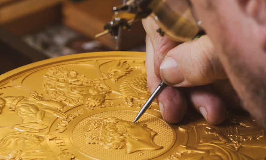 Work on the coin