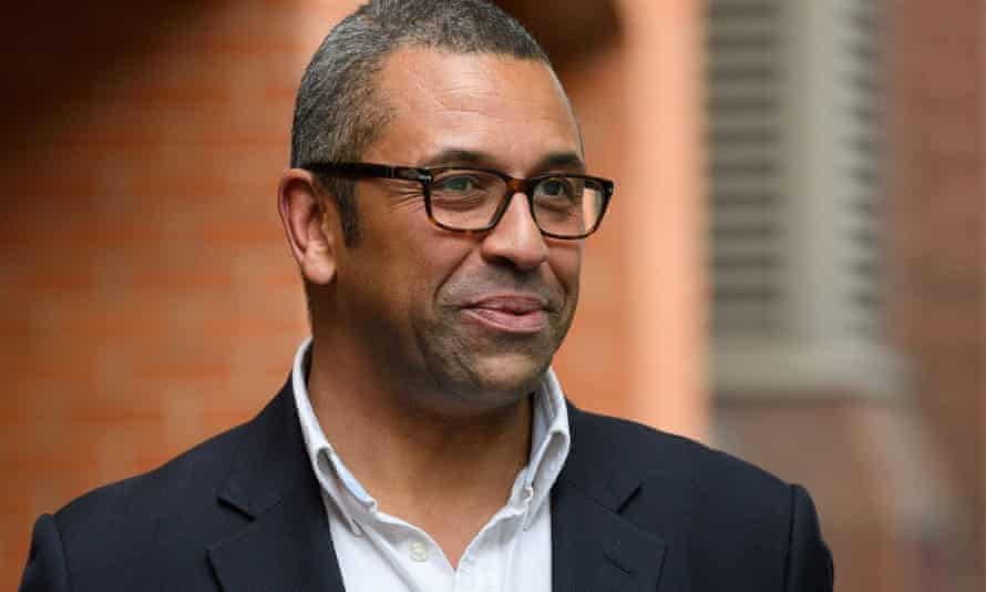 James Cleverly in Westminster