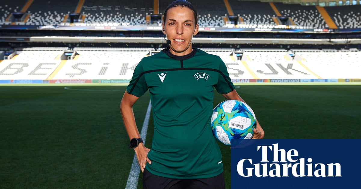Stéphanie Frappart takes centre stage in big moment for women in football   Suzanne Wrack