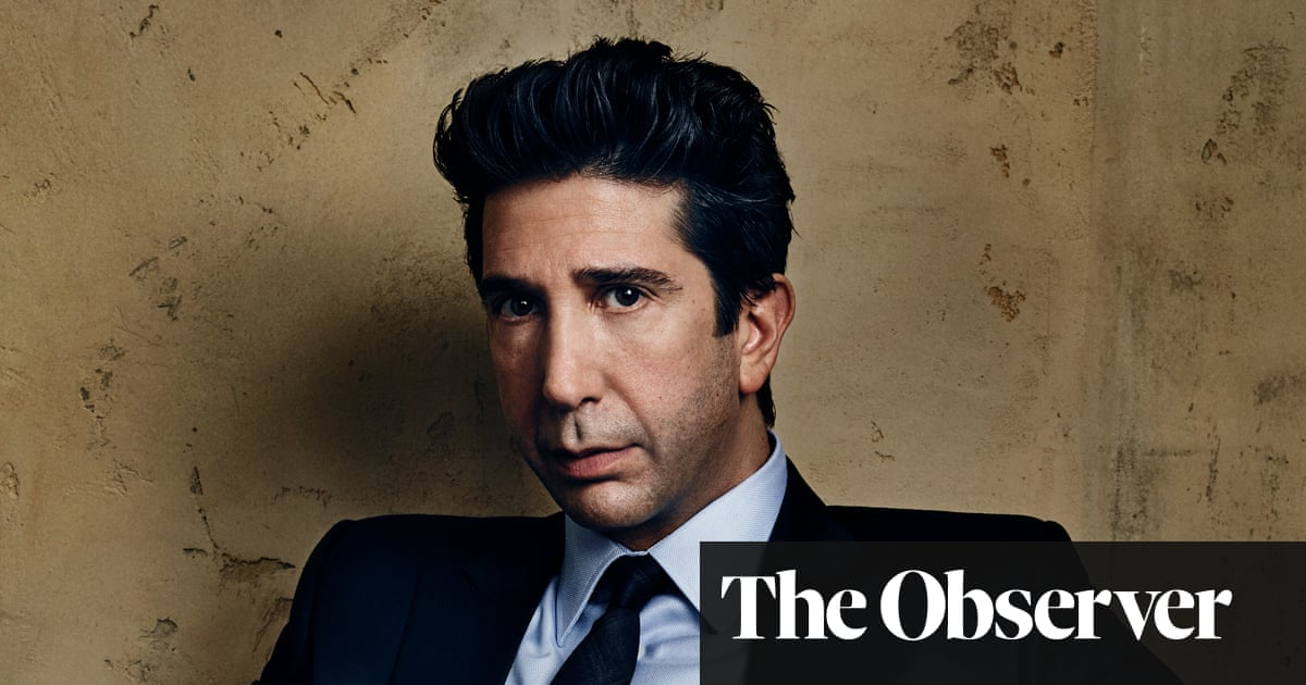 David Schwimmer: 'I was a roller-skating waiter for seven years'