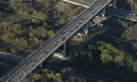 The Prince Edward Viaduct takes Bloor Street over the Don Valley Parkway. Toronto's ravines have long frustrated city planners.