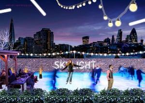 Skylight skating