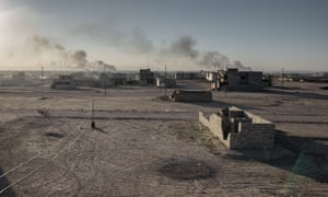 Much of the city remains uninhabitable as battles between the retreating Isis and the Iraqi army continue.