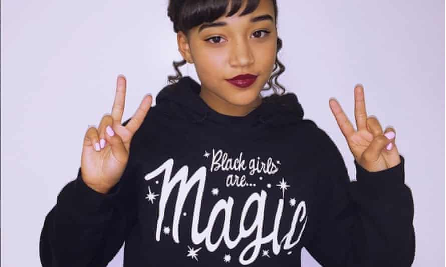 Actor Amandla Stenberg has been a big champion of the idea behind #BlackGirlMagic.