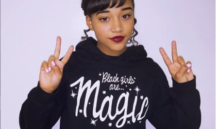 Actor Amandla Stenberg has been a big champion of the idea behind #BlackGirlMagic.