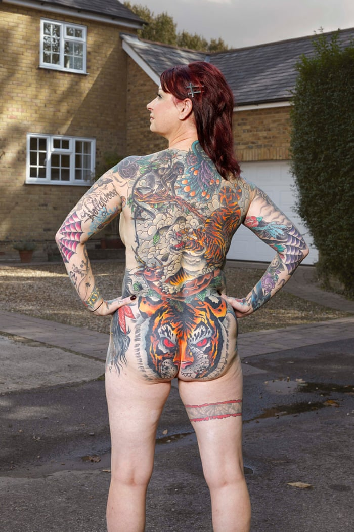 af0f34eaba What lies beneath  people with full-body tattoos bare all – in pictures