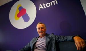 Atom Bank's chairman, Anthony Thomson