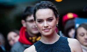 Raidy or not ... Star Wars actor Daisy Ridley