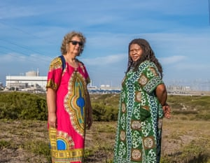 Makoma Lekalakala (right) and Liz McDaid (left) from South AfricaAs grassroots activists, Lekalakala and McDaid built a broad coalition to stop the South African government's massive nuclear deal with Russia.