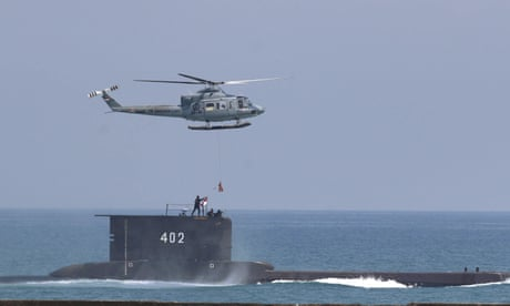 Indonesia continues search for missing submarine carrying 53 people. 49