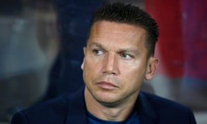 Hapoel Beer Sheva's young coach Barak Bachar has led them to not only a first title in 40 years but now within touching distance of the group stages of the Champions League.
