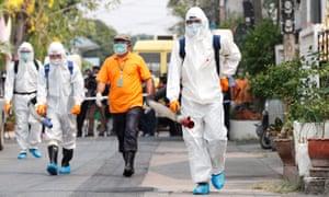 coronavirus travel to thailand