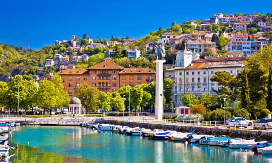 The Liberation monument near the centre of Rijeka.