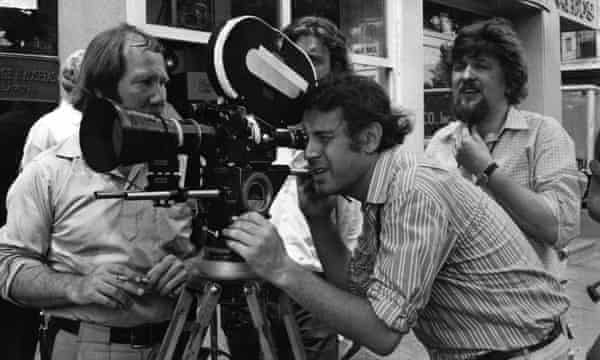 Milos Forman filming Taking Off, 1971.