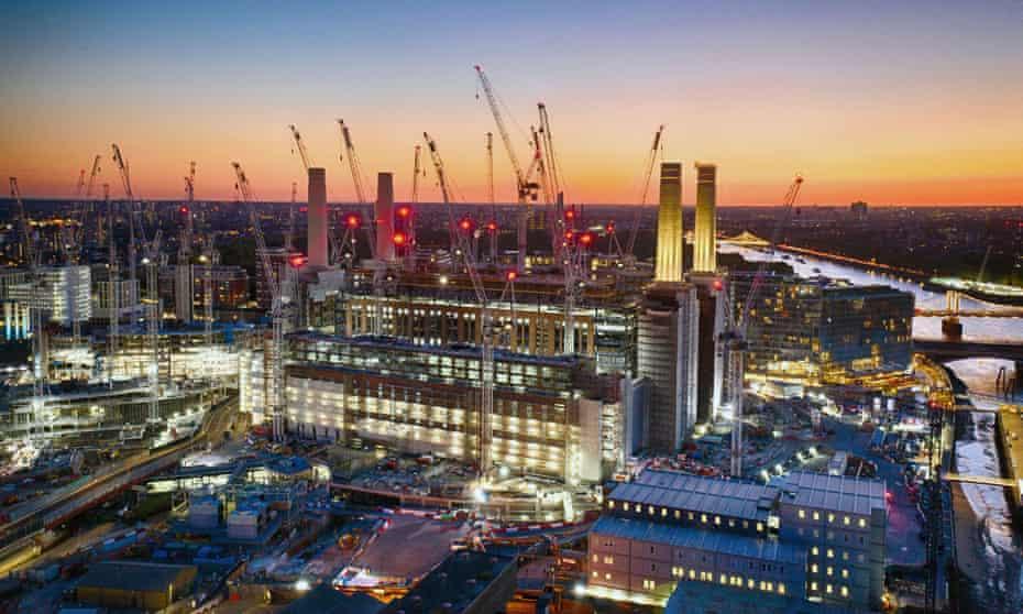 Gargantuan … Apple is buildng an HQ in the former Battersea Power Station.