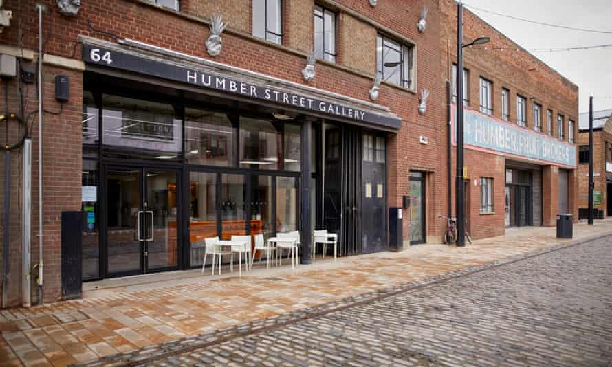 The Humber Street Gallery in Hull opened in 2017.