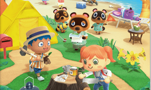Nintendo's bestselling Animal Crossing: NewHorizons game.