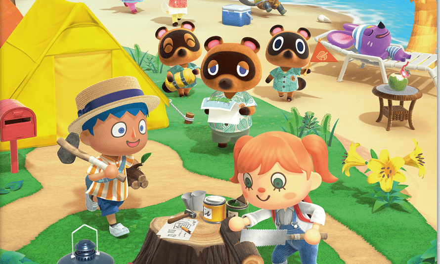 Nintendo's bestselling Animal Crossing: NewHorizons game.