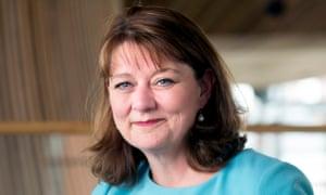 Leanne Wood, the Plaid Cymru leader
