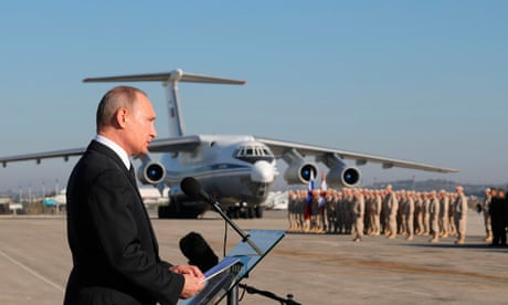 Russia softens up west for bloodbath it is planning in Syria's Idlib province