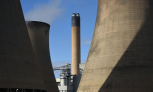 Drax's coal-fired power station near Selby, north Yorkshire.