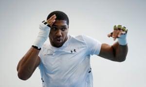 Anthony Joshua, world heavyweight boxing champion.