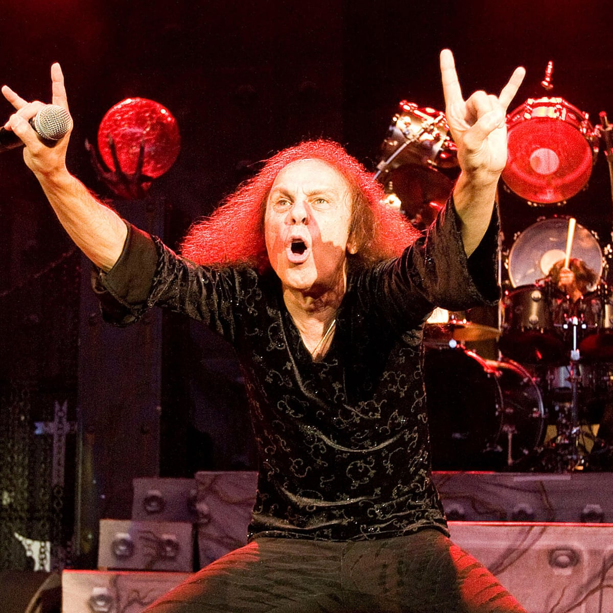 Rock star Ronnie James Dio set for world tour – despite having died in 2010 | Ronnie James Dio | The Guardian