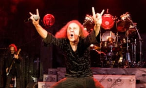 Ronnie James Dio … Pictured onstage in 2009.