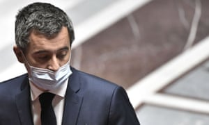 French interior minister Gerald Darmanin is accused of breaking the government's lockdown rules.