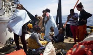 Sea-Watch rescue ship Alan Kurdi