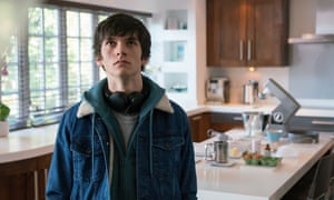 Fionn Whitehead as the teen with telekinetic powers in ITV's Him.