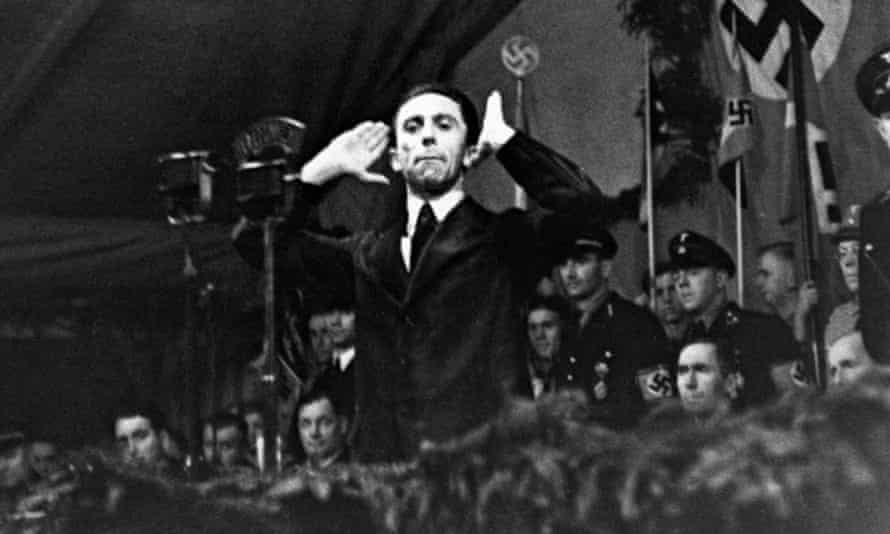 Joseph Goebbels: a 'rhetorical coincidence'?