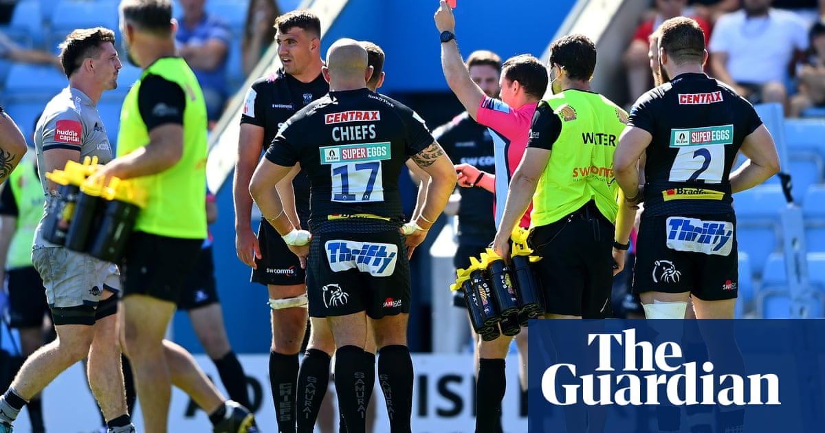 Exeter's Skinner and Ewers to miss play-off semi-final against Sale after bans