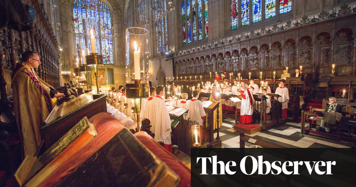 Carols from Kings to be sung in empty chapel for first time in a century