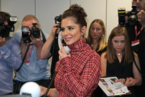 Cheryl representing The Prince's Trust attends BGC Charity Day at One Churchill Place on September 11, 2019.