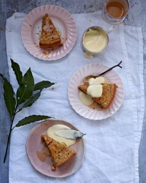 Claire Ptak's orange almond syrup cake.