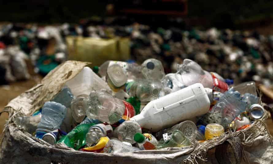 Oceans plastic waste