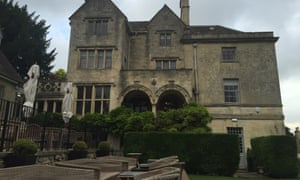 Exterior shot of The Painswick Hotel and Restaurant, Painswick, Cotswolds