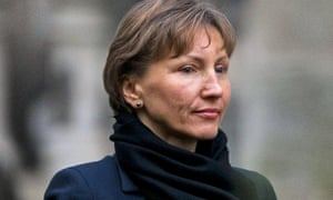 Marina Litvinenko outside the Royal Courts of Justice in London.
