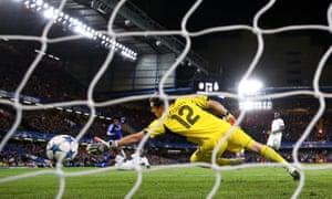 Casillas had no chance.