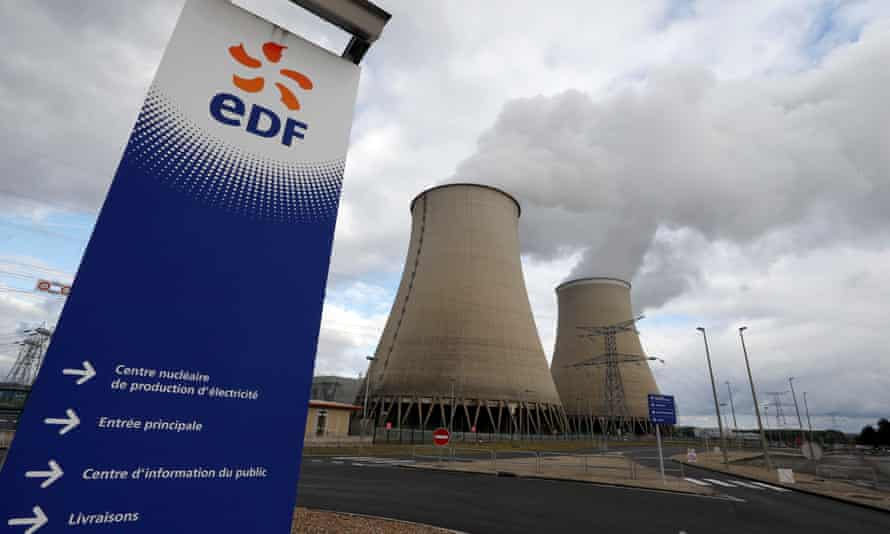 Twenty of EDF's nuclear reactors in France have been shut for maintenance, five more than normal.